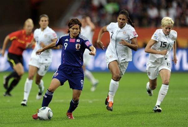 La finale del campionato del mondo femminile tra Giappone e USA