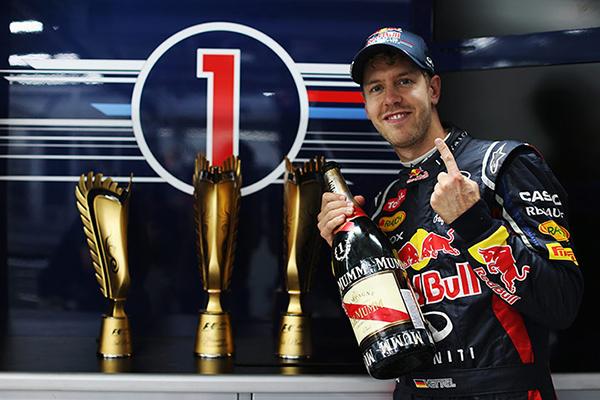 Vettel vince il mondiale di Formula 1 2012