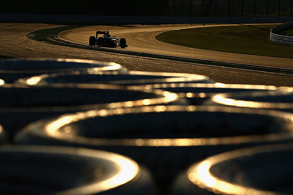 Vettel in Giappone durante il campionato di Formula 1 2012