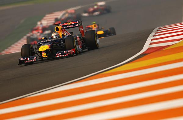 Vettel in Formula 1 2012