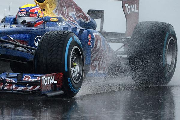 Webber in Formula 1 2012