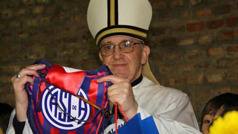 Jorge Bergoglio tifoso del San Lorenzo