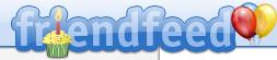 FriendFeed logo per il primo anniversario