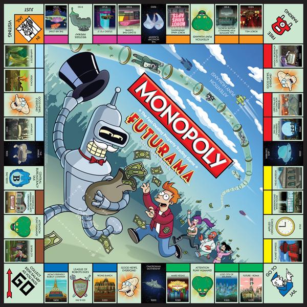 Futurama, Monopoly