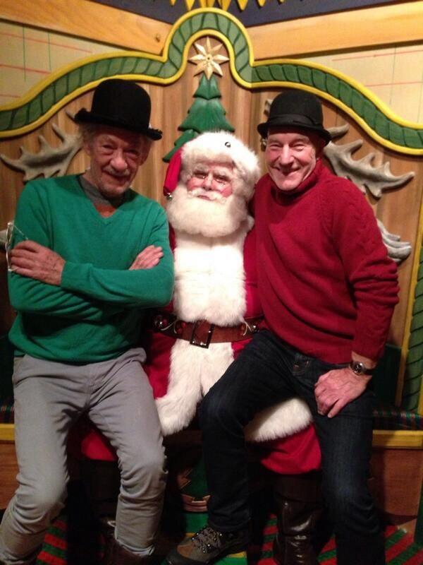 Gandalf, Picard e Babbo Natale