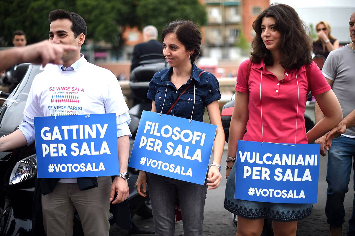 Gattiny per Sala, elezioni Milano 2016