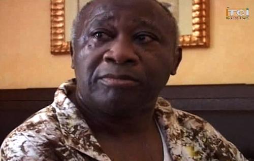 Il dittatore ivoriano Gbagbo