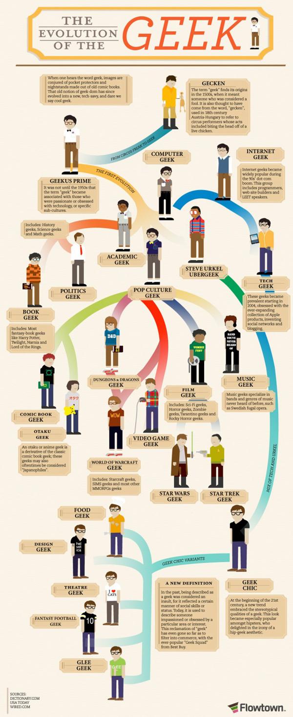 Infografica sui geek