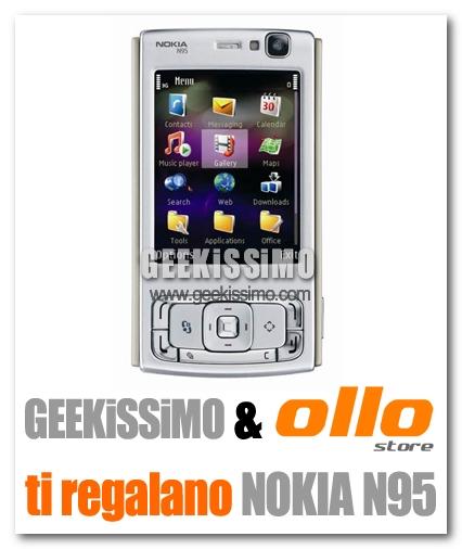 Il Nokia N95 messo in palio da Geekissimo