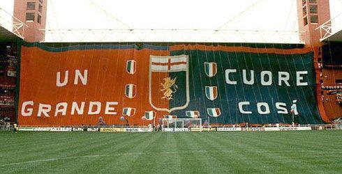 Curva Nord, Stadio De Ferraris Genova
