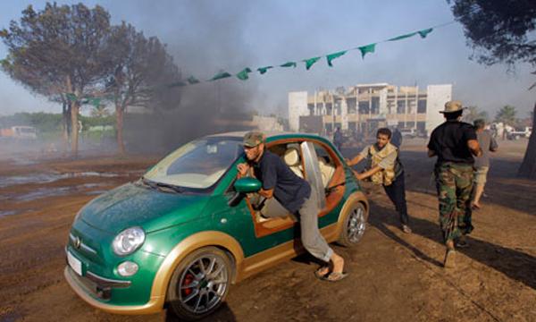 La 500 elettrica di Gheddafi