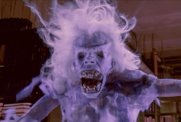 Il fantasma della vecchia signora in Ghostbuster