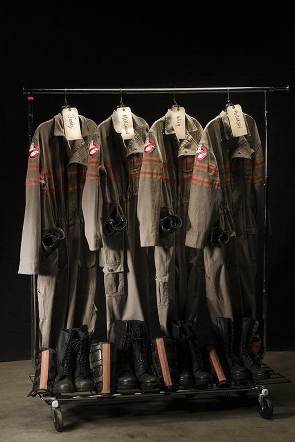 Le nuove uniformi di Ghostbusters