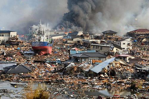 Paesaggio apocalittico a Kesennuma