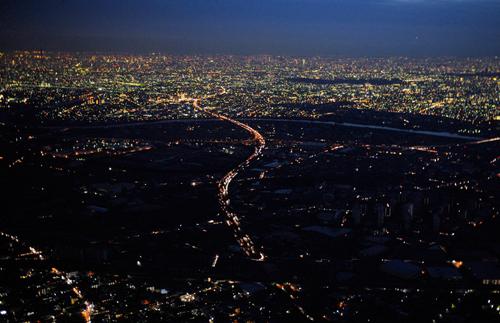 Blackout a Misato nella prefettura di Saitama