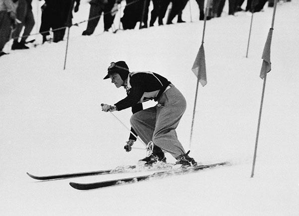 Andrea Mead a St. Moritz 1948
