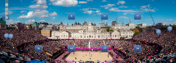Il beach volley a Londra 2012