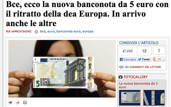 Screenshot de Il Messaggero