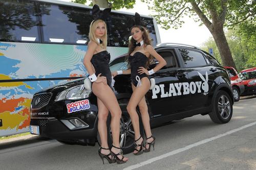 Ragazze Playboy al Giro d'Italia