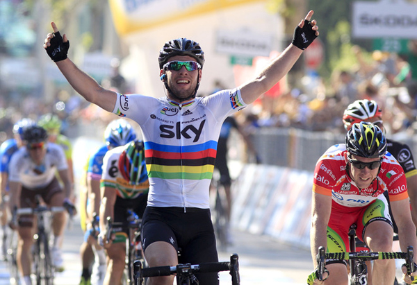 Mark Cavendish al Giro 2012