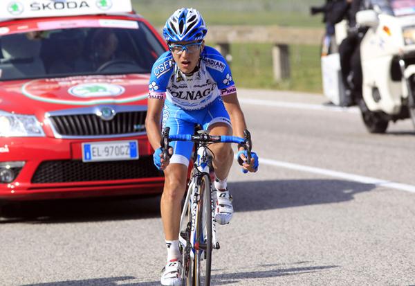 Domenico Pozzovivo al Giro 2012