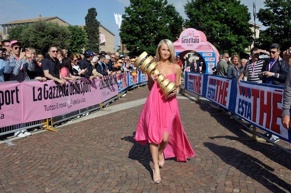 La coppa del Giro d'Italia