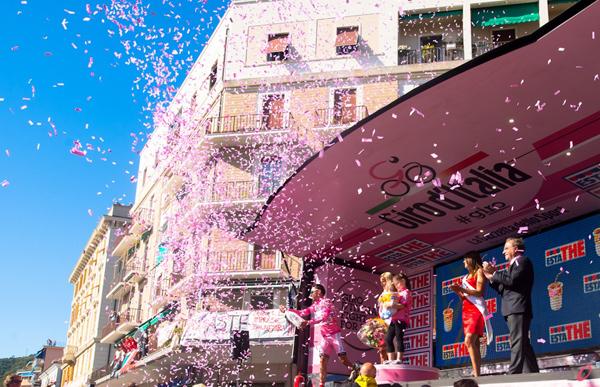 Il Giro 2012 a Sestri Levante