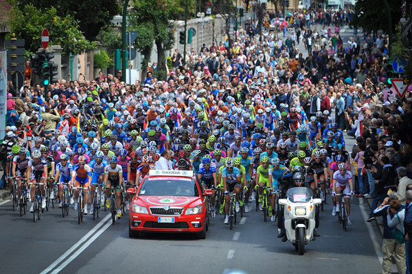 Il Giro 2012 a Savona