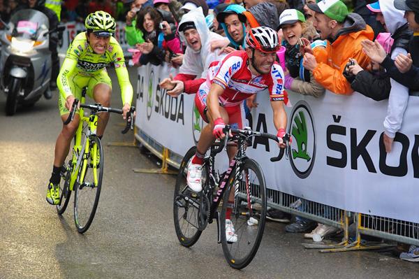 Robottini e Rodriguez al Giro 2012