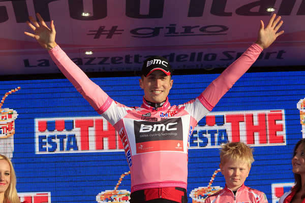Taylor Phinney al Giro 2012