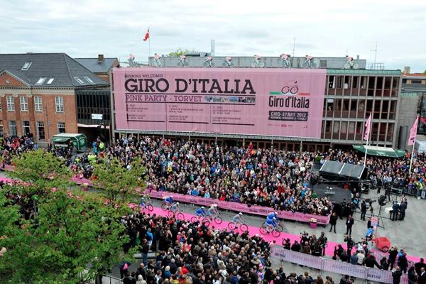 Il Giro d'Italia 2012 in Danimarca