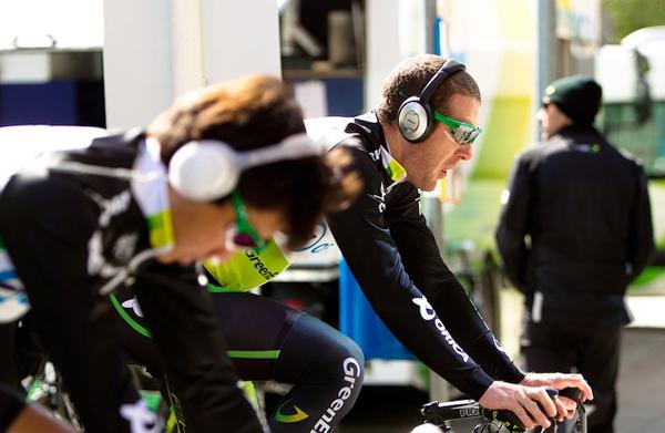 Allenamento al Giro 2012