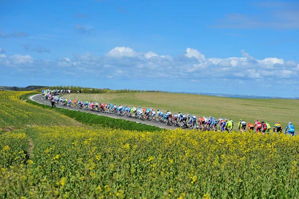 Paesaggi danesi al Giro 2012