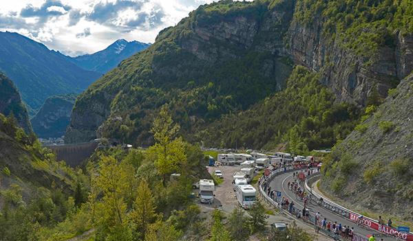 Il Giro 2013 sul Vajont