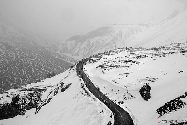 Neve al Giro 2013