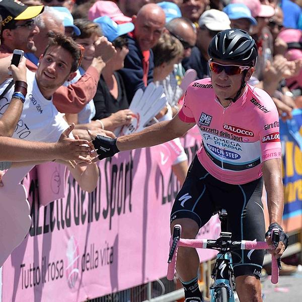 Uran in maglia rosa al Giro 2014