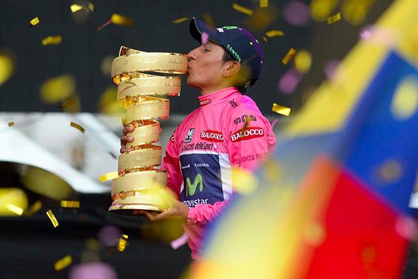 Quintana vince il Giro 2014