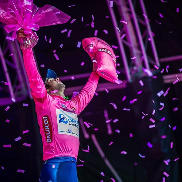 Matthews in maglia rosa al Giro d'Italia 2014