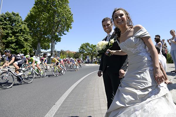 Sposi al Giro 2014