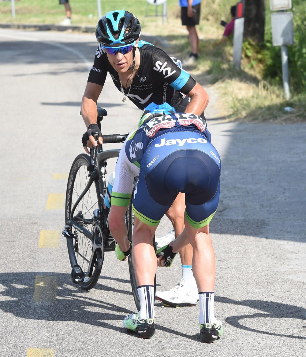 Porte e Clarke al Giro 2015