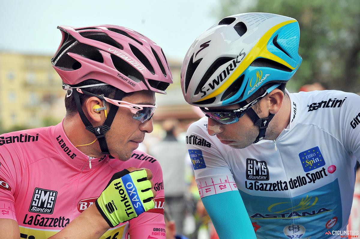 Contador e Aru al Giro 2015