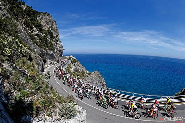 Il Giro 2015 in Liguria