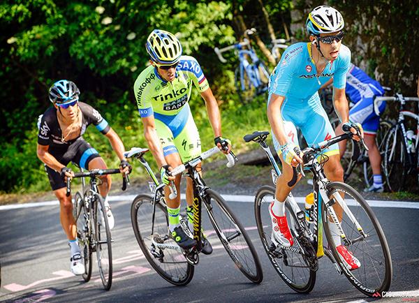 Aru, Contador e Porte al Giro 2015