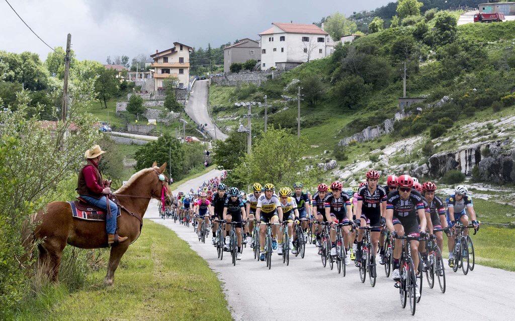 Cowboy al Giro d'Italia 2016