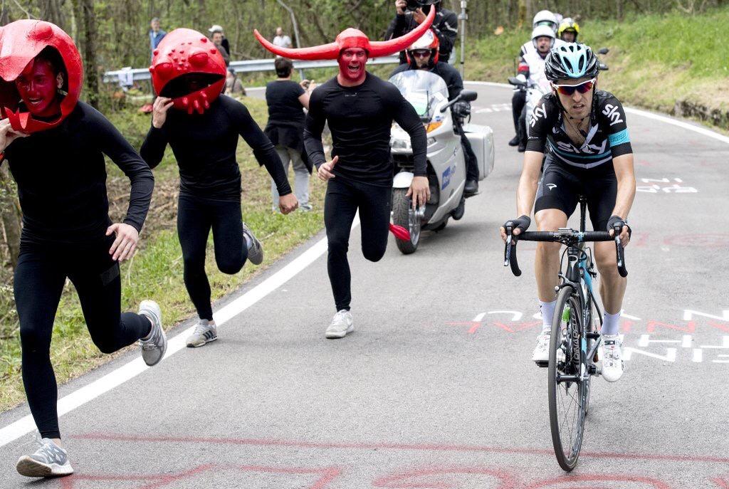 Tifosi e Nieve al Giro d'Italia 2016