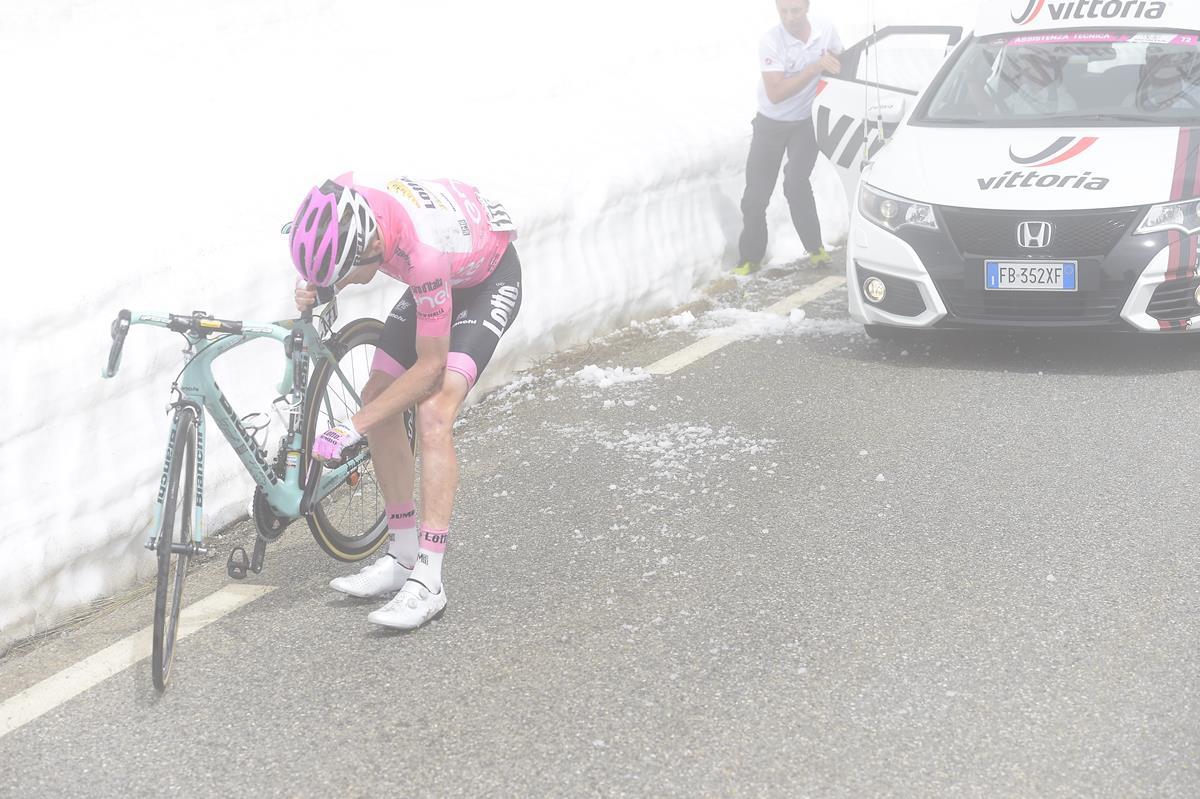 Steven Kruijswijk al Giro d'Italia 2016
