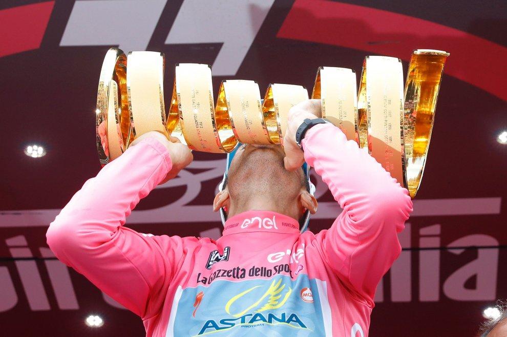 Nibali al Giro d'Italia 2016