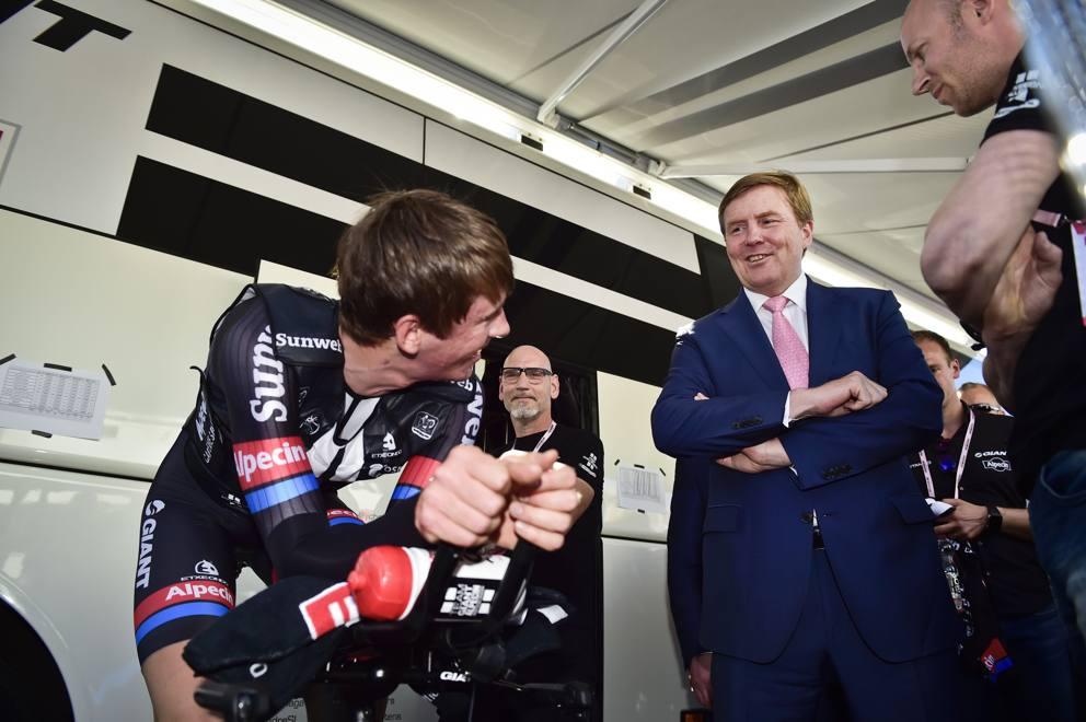 Re Guglielmo Alessandro al Giro d'Italia 2016
