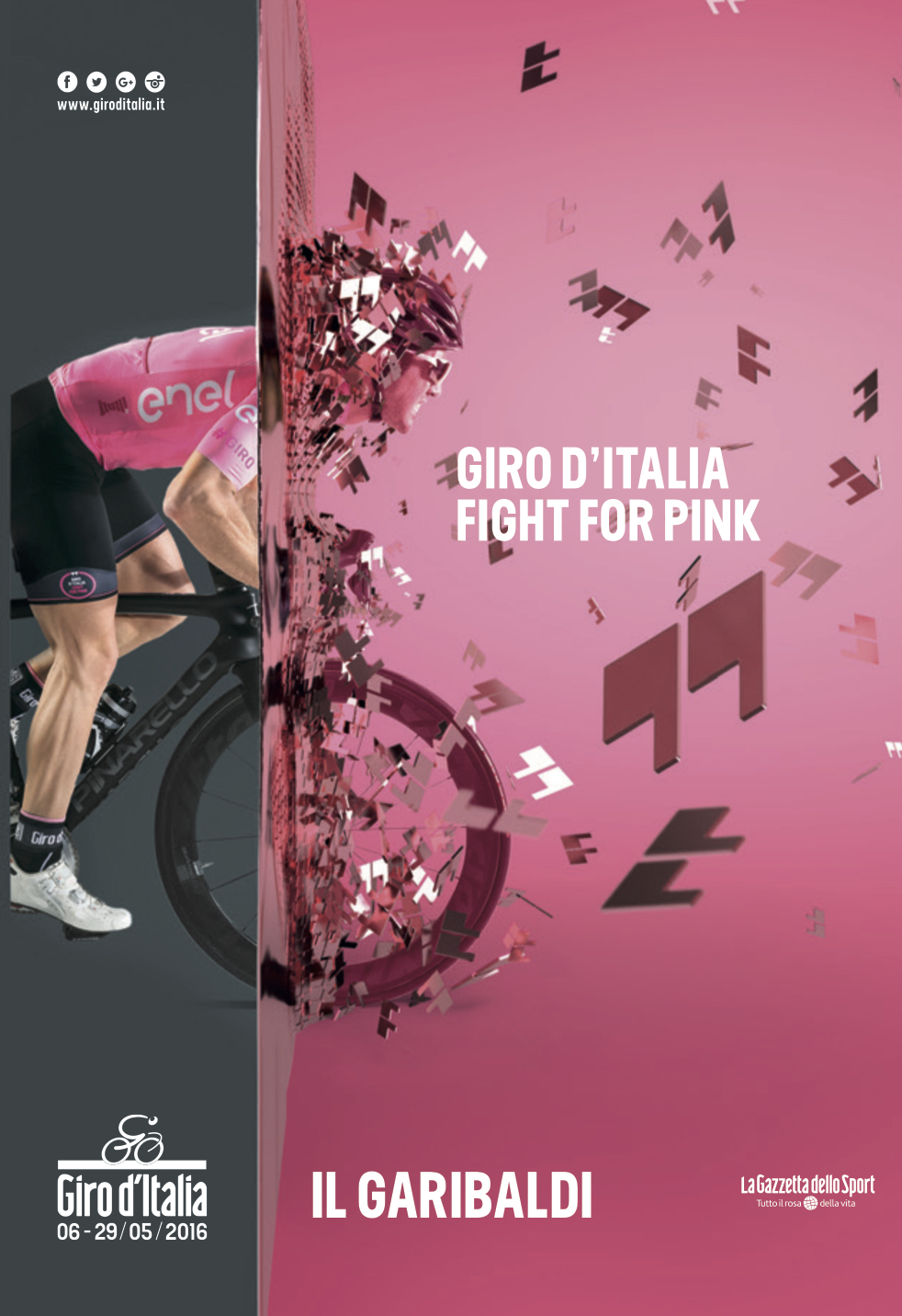Il Garibaldi del Giro d'Italia 2016