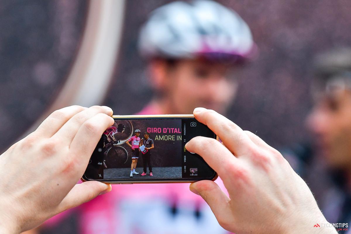 Tom Dumoulin al Giro d'Italia 2017